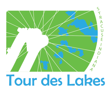 Tour on your bike 8 beautiful lakes including Syracuse, Wawasee, North Webster, Winona and More