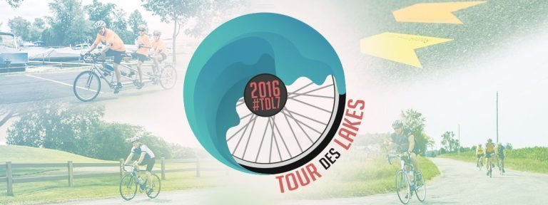 Tour des Lakes 2016 TShirt Design