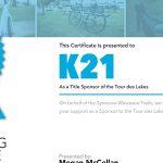 2016 Sponsor Certificates