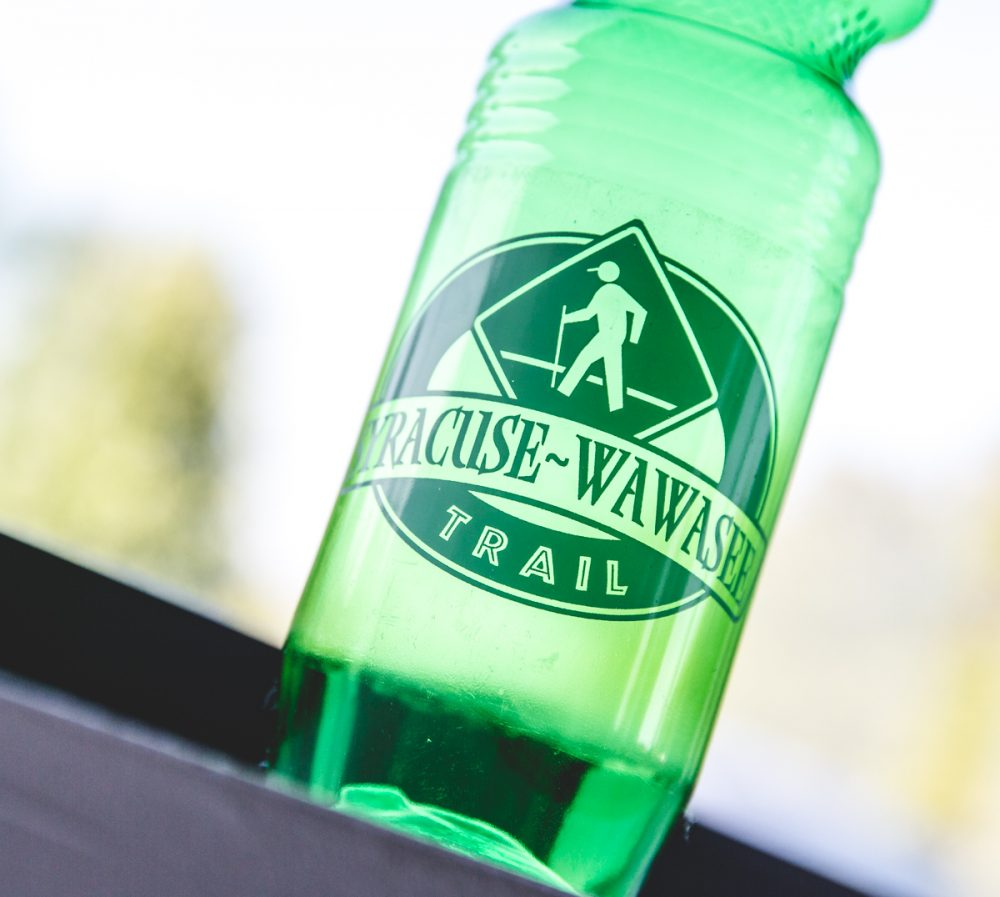 Syracuse wawasee trails water bottle 03 1 - tour des lakes - tour on your bike 8 beautiful lakes including syracuse, wawasee, north webster, winona and more