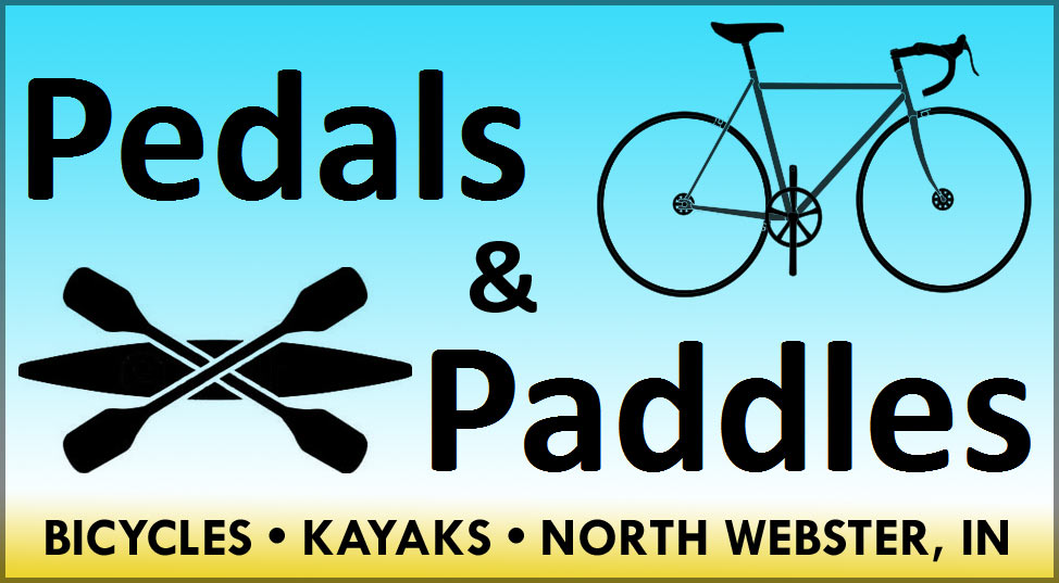 Pedalspaddles logo tdlweb - tour des lakes - tour on your bike 8 beautiful lakes including syracuse, wawasee, north webster, winona and more