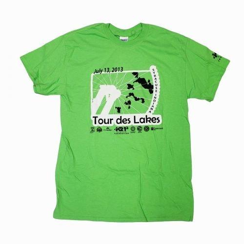Tour des Lakes 2013 Shirt